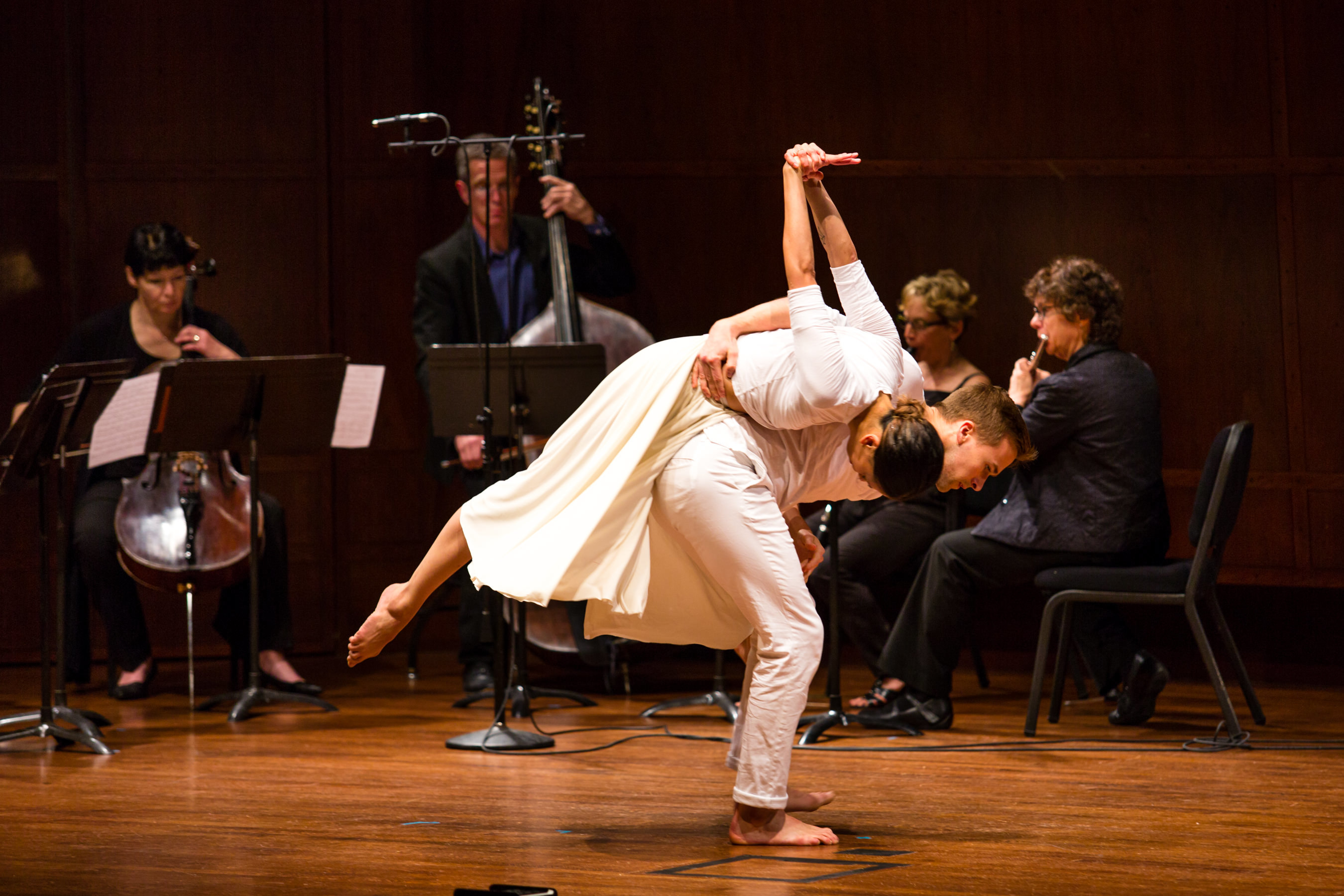 Liane Aung and Karl Watson, Whim W'Him Seattle Contemporary Dance; MOR Ensemble