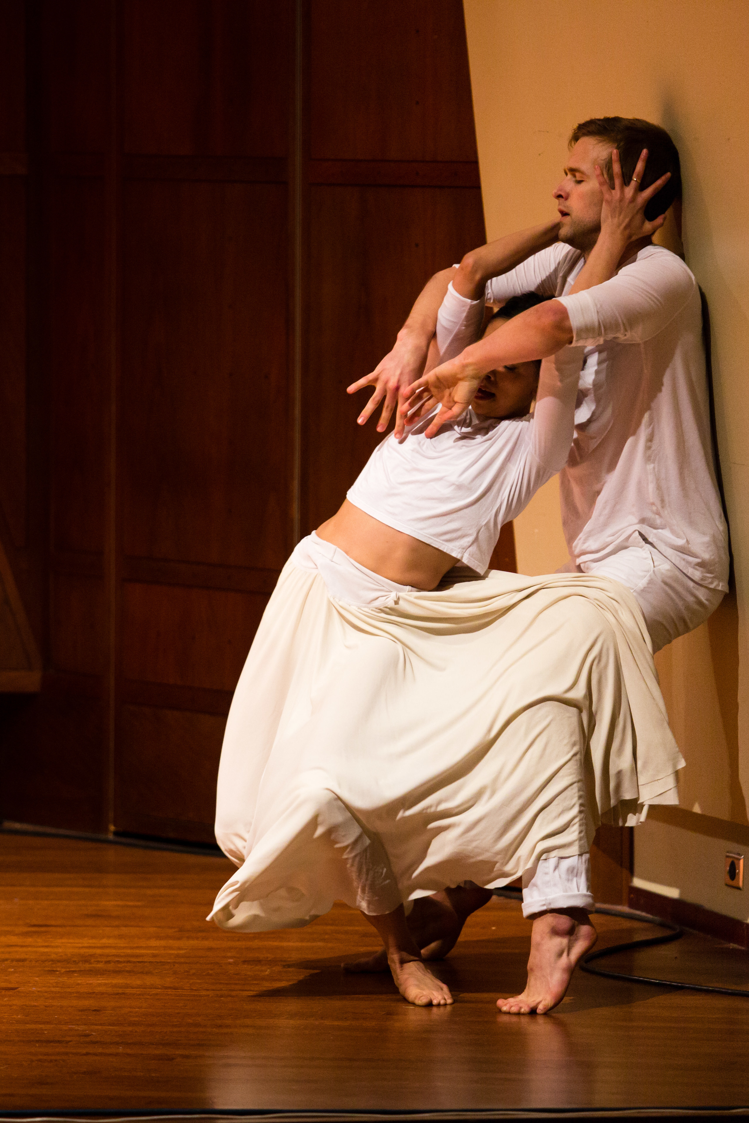 Liane Aung and Karl Watson, Whim W'Him Seattle Contemporary Dance