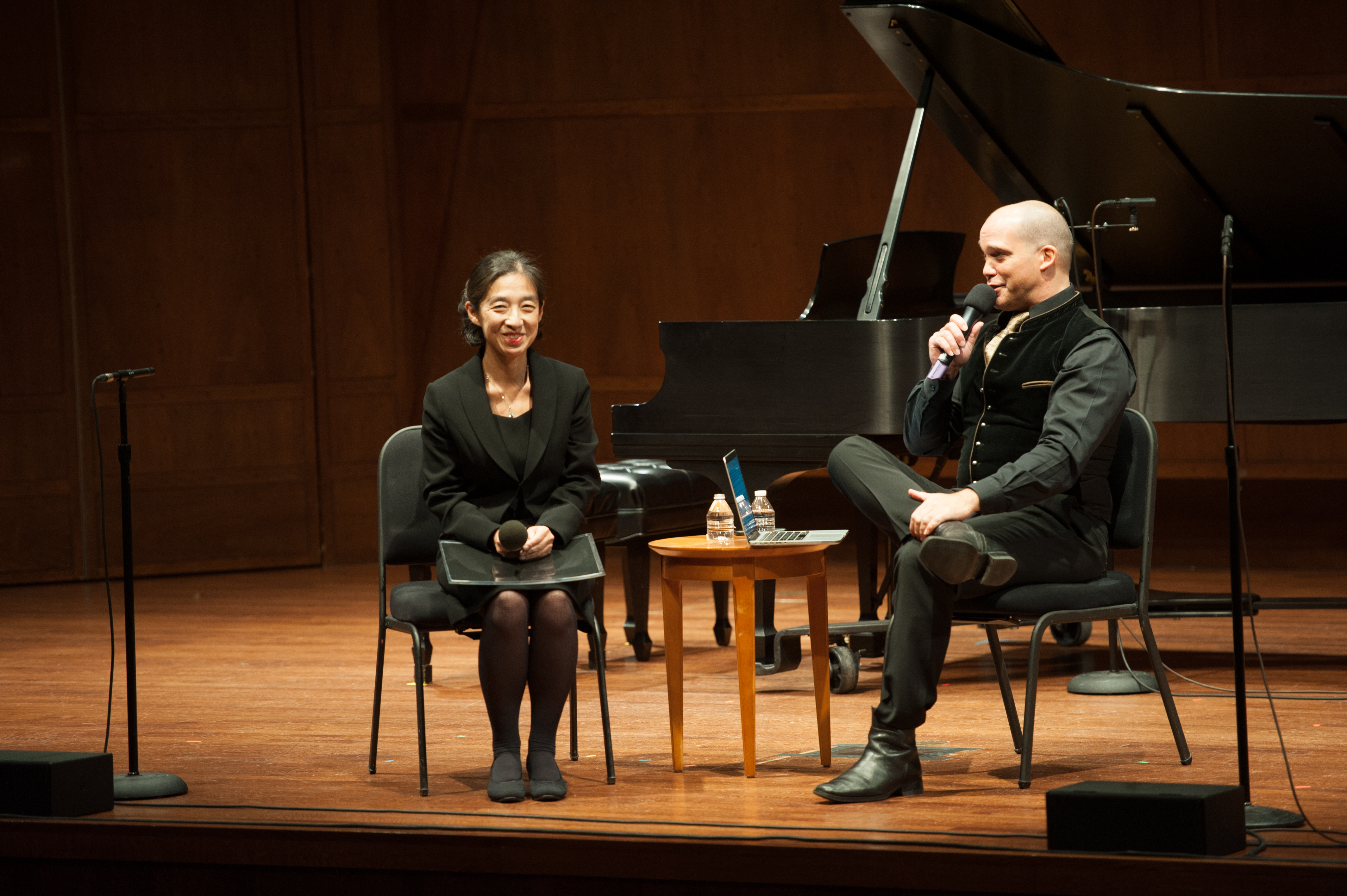 Pre-concert interview with composer Keiko Fujiie